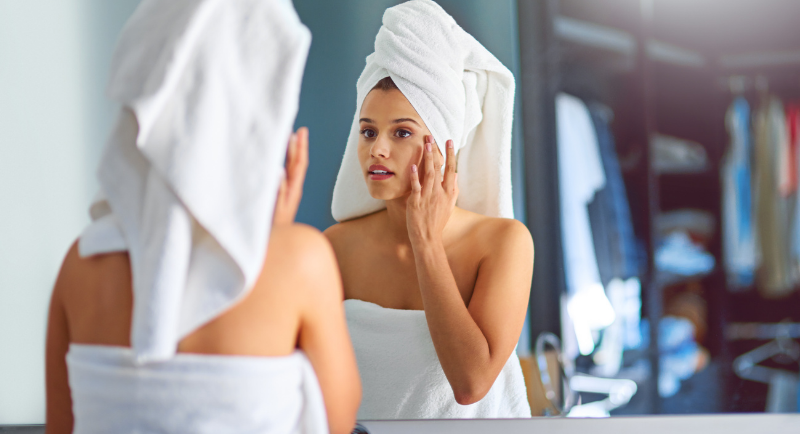 Beauty routine per pelle luminosa